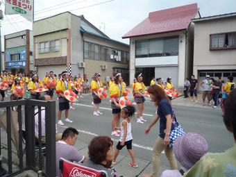 尾花沢花笠祭り